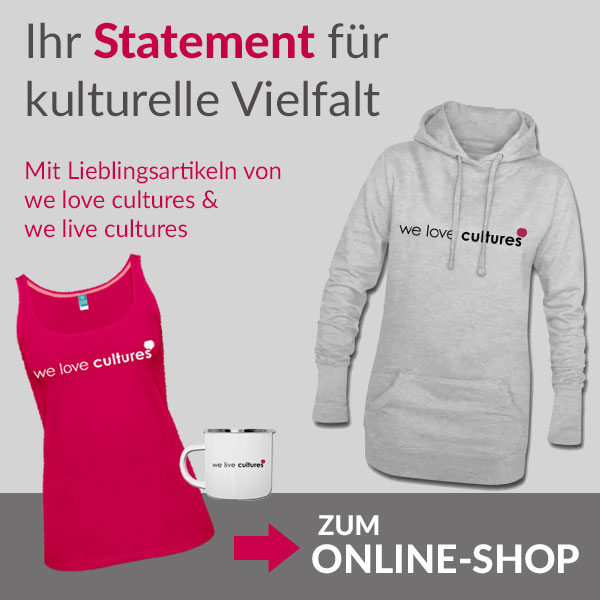 we love cultures Onlineshop