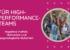 Kognitive Vielfalt, Motivation und psychologische Sicherheit für High-Performance-Teams
